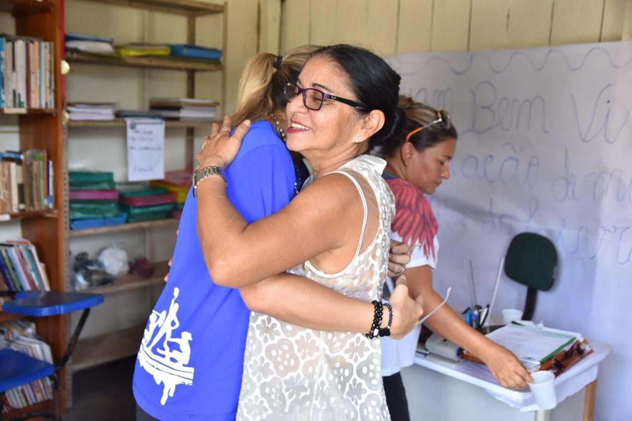 Sejel visita comunidade ribeirinha Nossa Senhora do Livramento