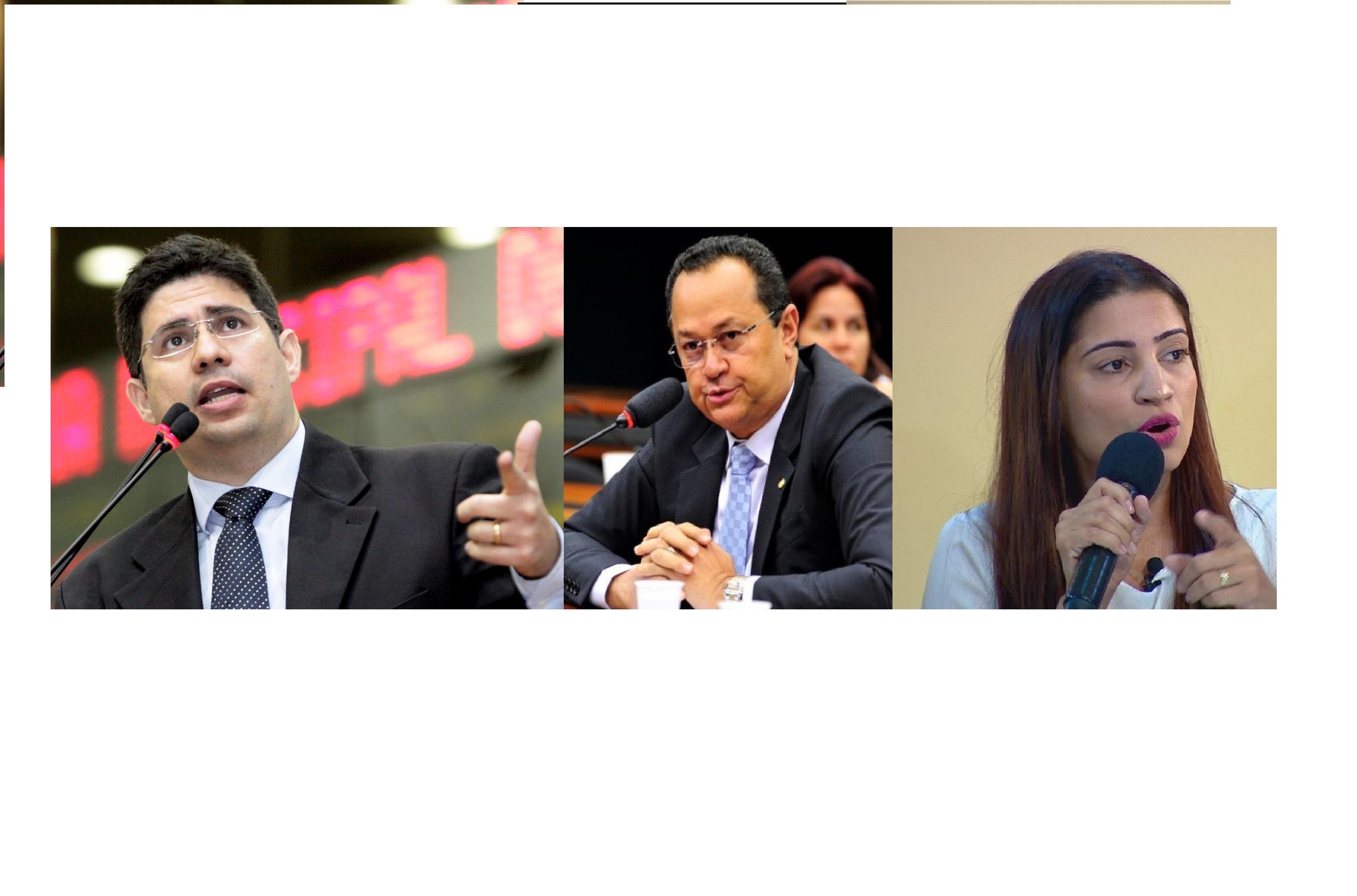 Hissa Abrahão, Liliane Araújo e Silas Câmara aparecem empatados em pesquisa para Câmara Federal