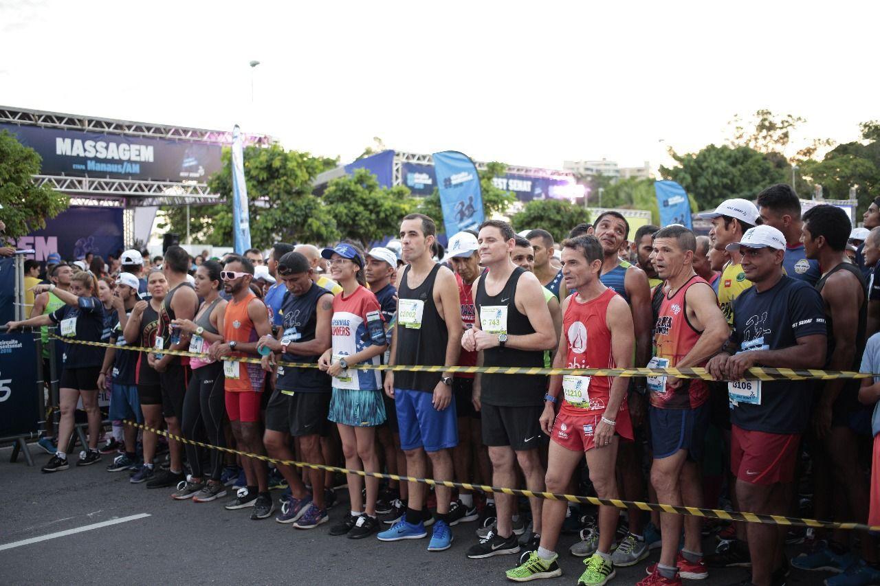 Circuito Sest Senat de Caminhada e Corrida de Rua atrai mais de 2,5 mil pessoas, em Manaus