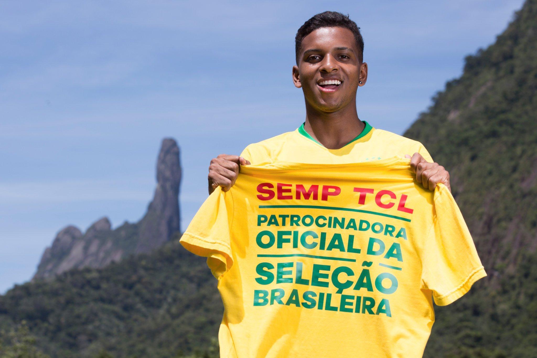 SEMP TCL é a nova patrocinadora da Seleção Brasileira