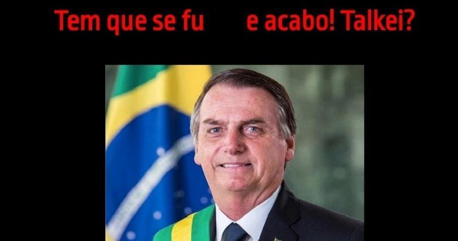 Site do PSOL é hackeado com foto de Jair Bolsonaro