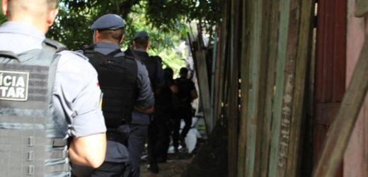 SSP deflagra operação contra o tráfico e homicídios na zona leste (Veja Vídeo)
