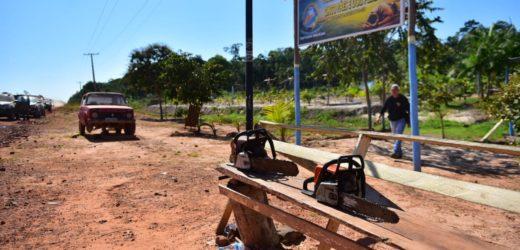 Operação desmonta ocupação ilegal em área ambientalmente protegida no Careiro Castanho
