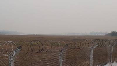 Fumaça de incêndios fecha aeroporto de Porto Velho