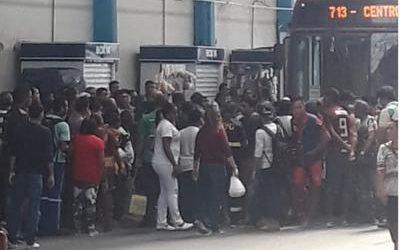 Homem é atropelado por ônibus dentro do Terminal 2 em Manaus