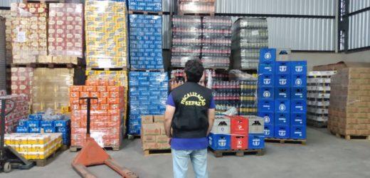 Bebidas sem nota fiscal são apreendidas pela Sefaz-AM
