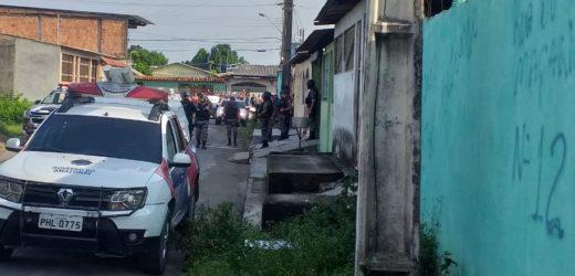 Assalto com reféns no bairro Fazendinha, em Manaus