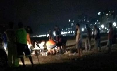Homem é atropelado por trator enquanto dormia em praia