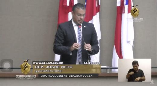 'Esse desgoverno resolveu cagar na cabeça do Sinésio', disse Josué Neto