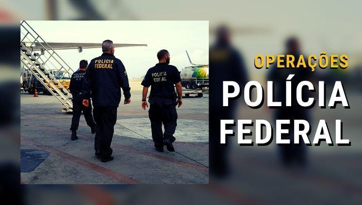 PF investiga organização criminosa dedicada ao tráfico internacional de drogas
