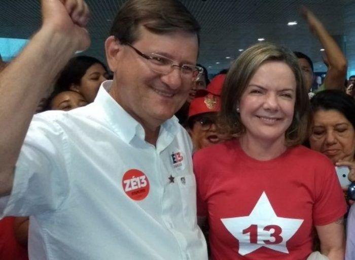 Gleisi Hoffmann afirma que candidatura de José Ricardo é prioridade nacional