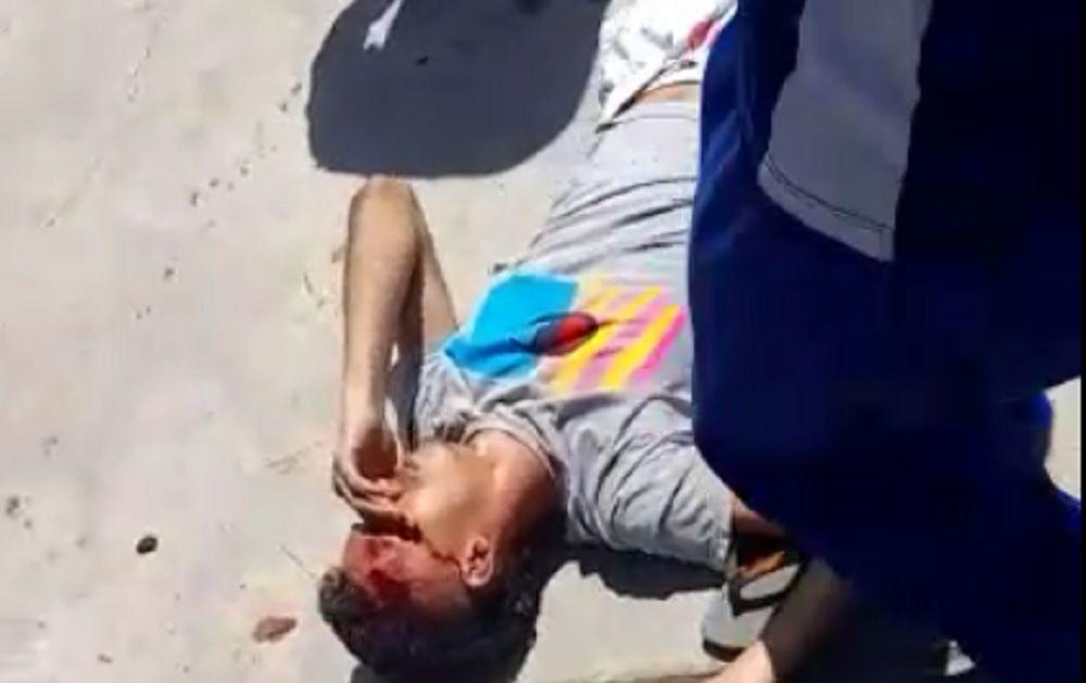 Suspeitos de tentar assaltar carro são espancados (veja o vídeo)
