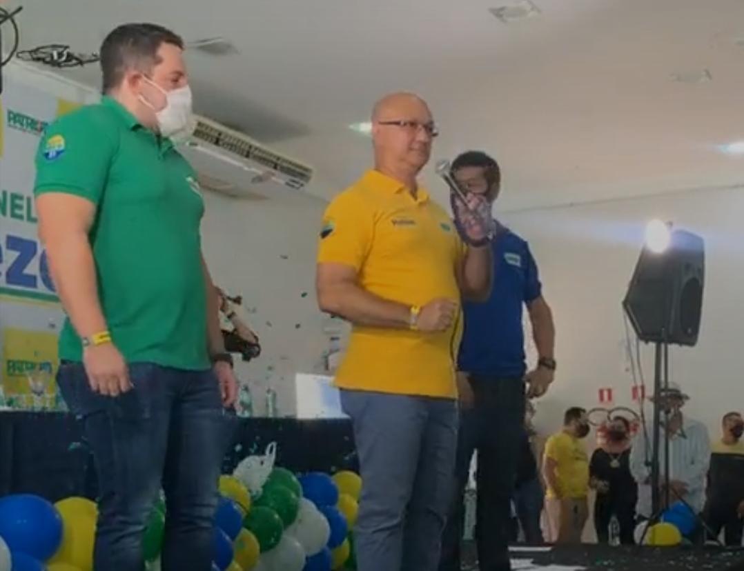 'Sou o único candidato que tem o DNA do presidente Bolsonaro', diz Alfredo Menezes