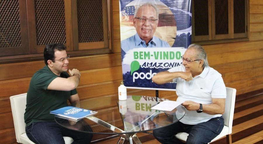 Amazonino recebe R$ 1 milhão do Podemos para gastar na campanha