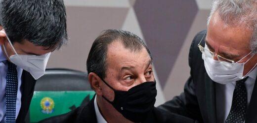 Ex-ministro da Saúde Nelson Teich presta depoimento à CPI da Pandemia
