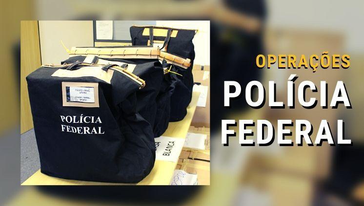 Operação da Polícia Federal mira em empresários que atuam no Amazonas