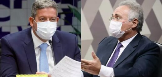 Disputa pelo governo do AL coloca Renan Calheiros e Arthur Lira em lados opostos