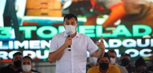 Wilson Lima firma convênios de R$ 490 mil para revitalizar Parque de Exposições e realizar Expopin, em Parintins